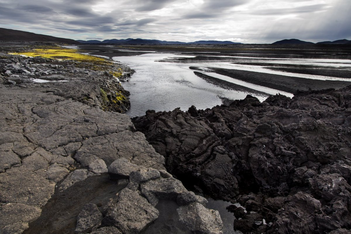 Icelandic nature, lava