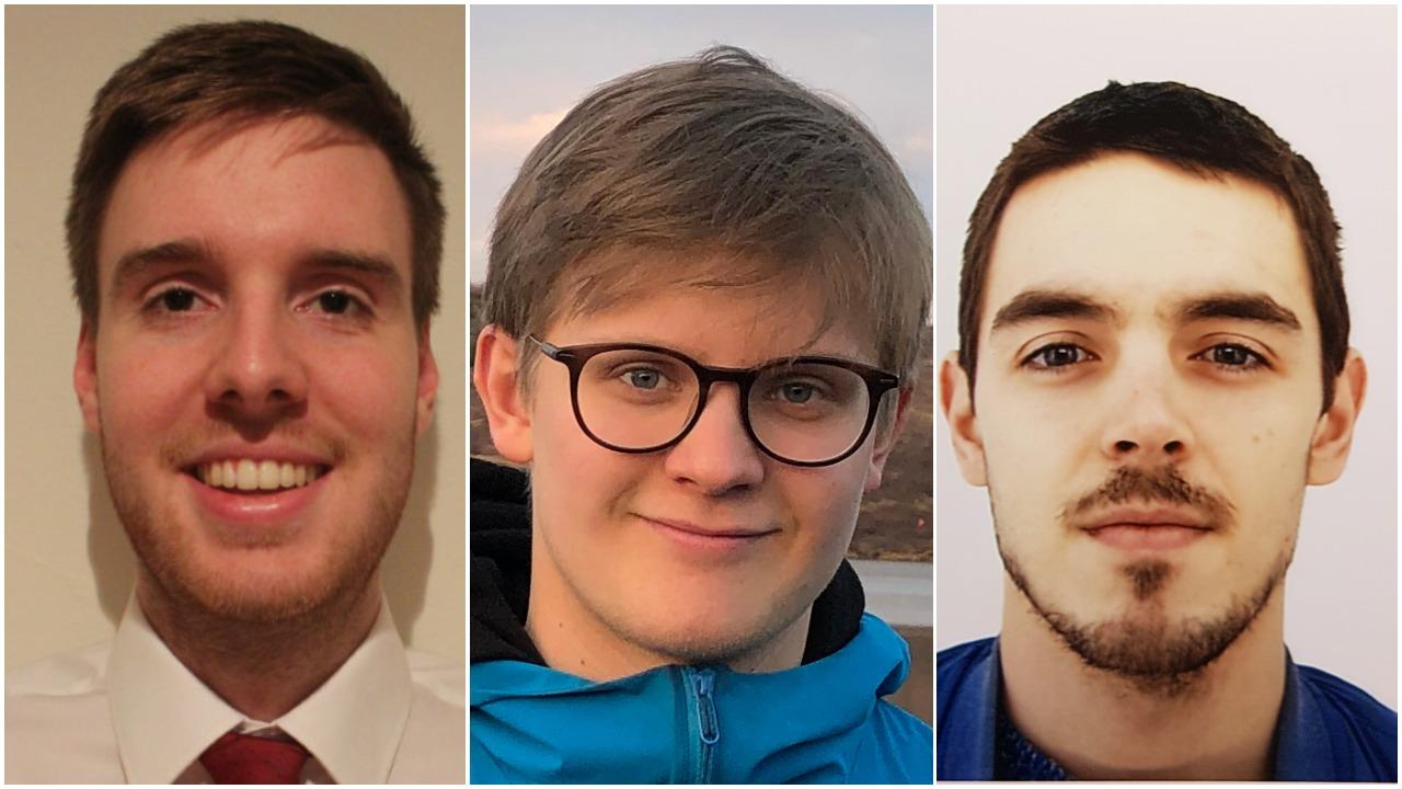 Alexander Berg Garðarsson, Kári Rögnvaldsson and Rafael Vias make up the team Klakinn, which is through to the finals of an international challenge to create a prediction model for the coronavirus pandemic.
