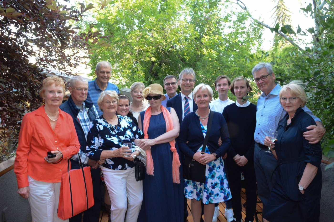 Rector had numerous sittings with alumni and friends of the university, including The Icelandic Club