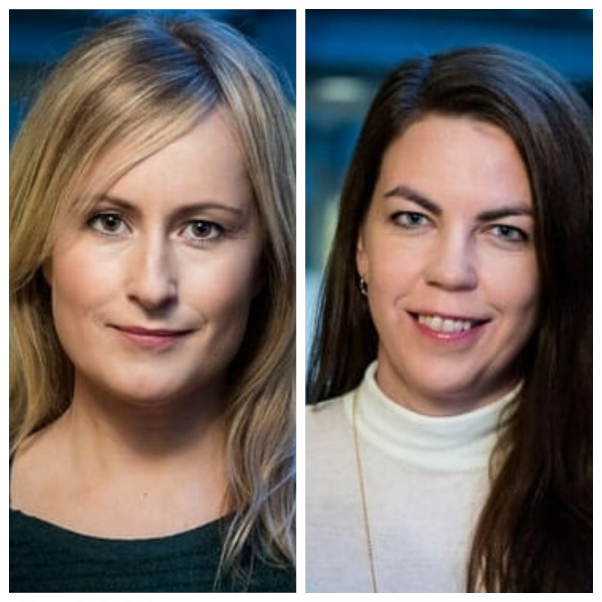 Unnur Valdemarsdóttir and Arna Hauksdóttir