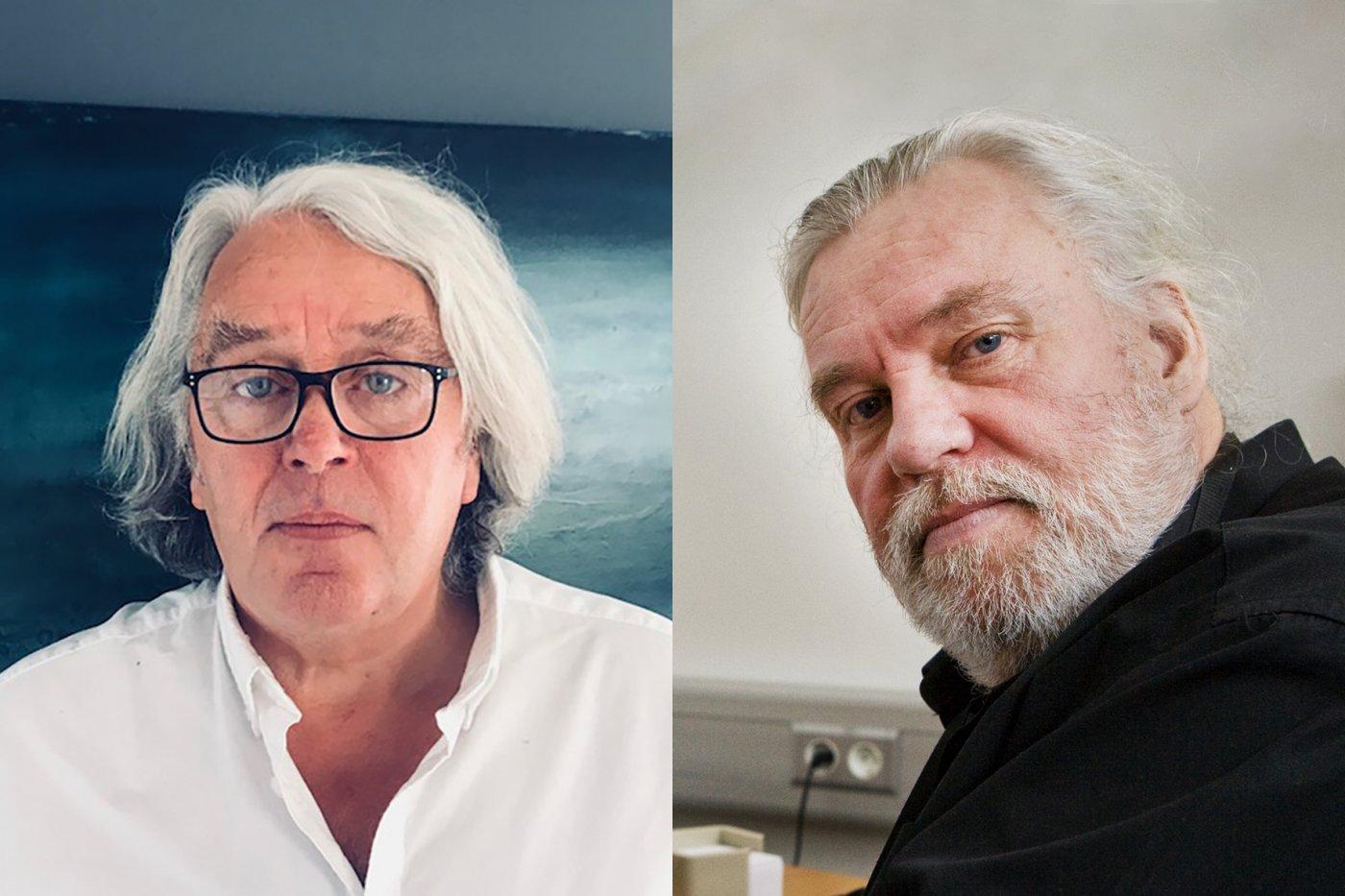 Dr Valur Emilsson and Dr Vilmundur Guðnason
