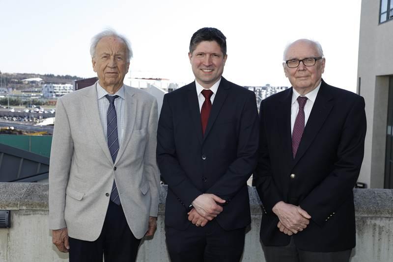 Árni Kristinsson, Hans Tómas Björnsson and Þórður Harðarson