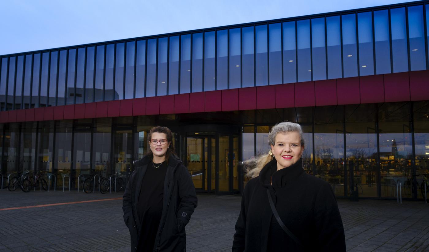 Guðrún Svana Hilmarsdóttir and María Guðjónsdóttir