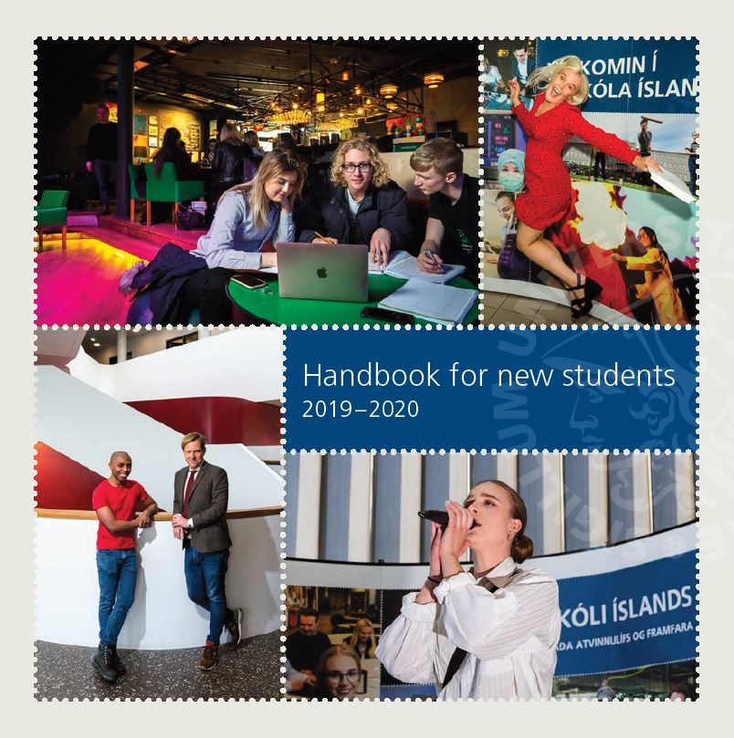Handbook for new students