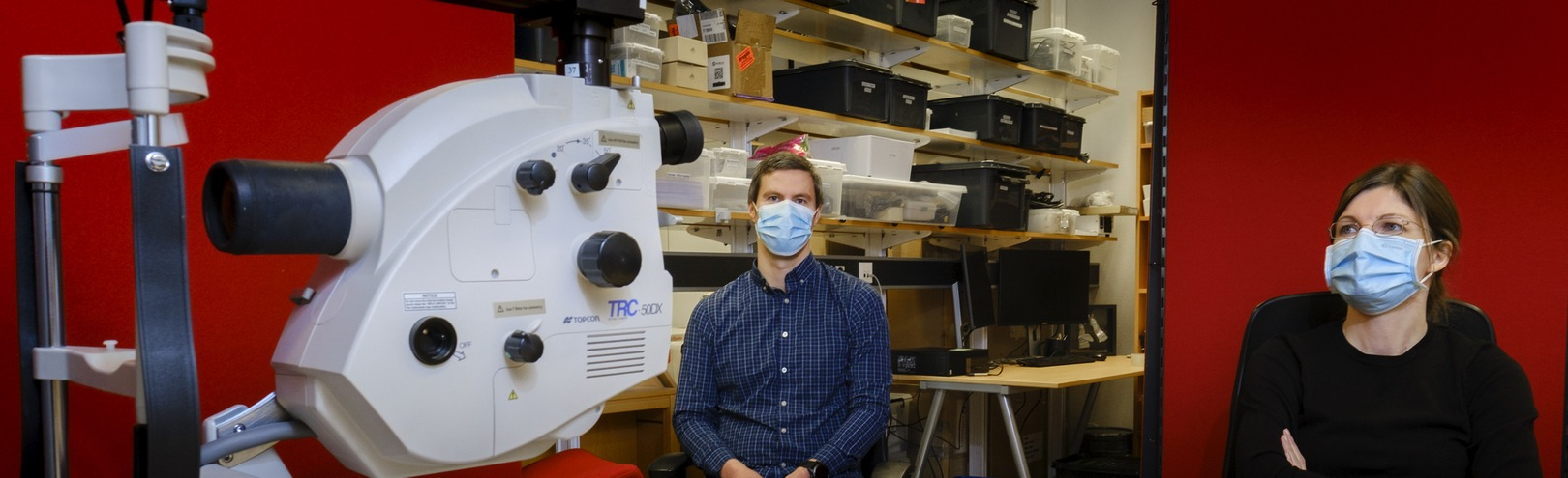 Could eye measurements help diagnose Alzheimer's? - Available at University of Iceland
