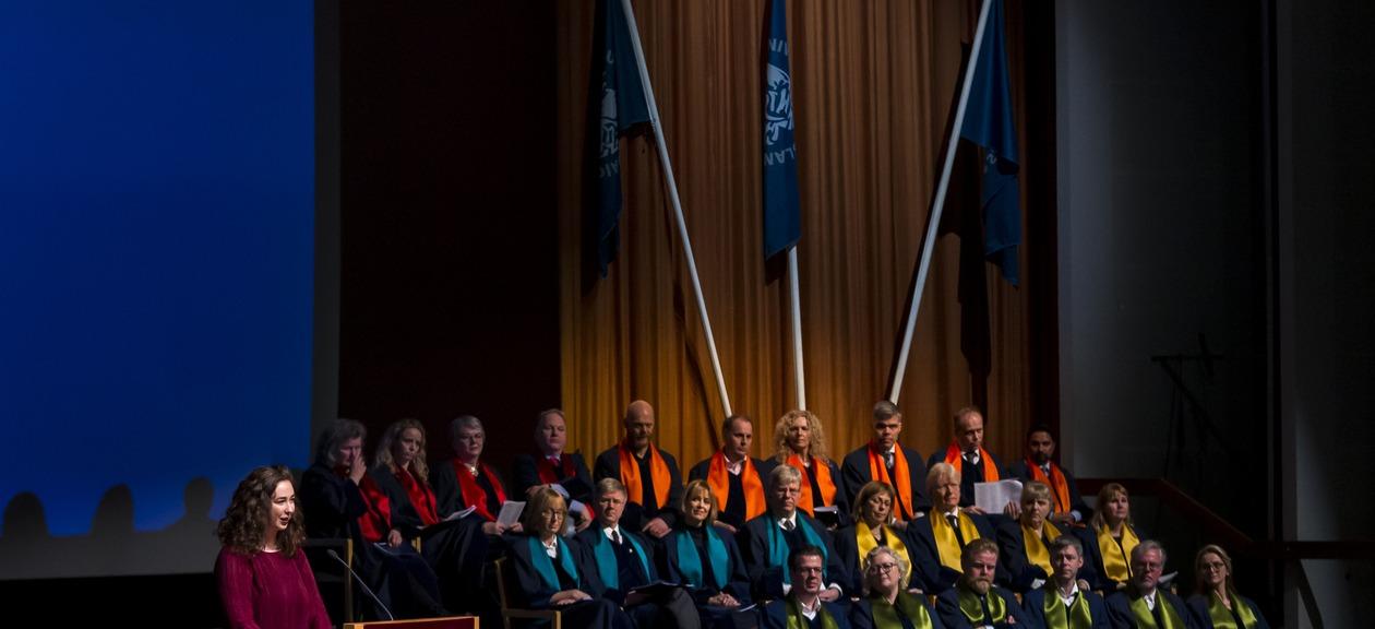 Graduation at the University of Iceland