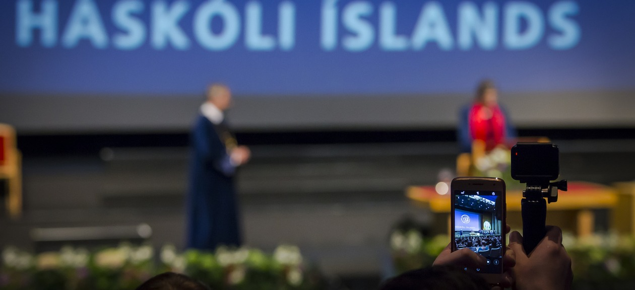 Graduation at the University of Iceland
