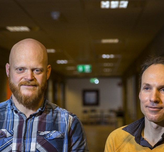 Rúnar Unnþórsson and Christiaan Richter