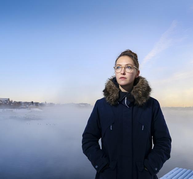 Áróra Árnadóttir, PhD student at the Faculty of Civil and Environmental Engineering