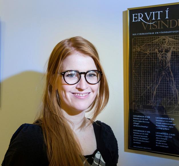 Heiða María Sigurðardóttir, post-doc at the UI Faculty of Psychology
