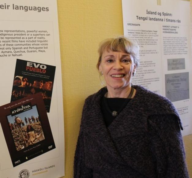 Hólmfríður Garðarsdóttir, Professor at the Faculty of Foreign Languages, Literature and Linguistics
