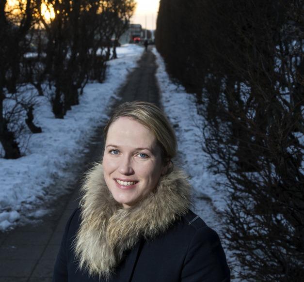 Jóhanna Eyrún Torfadottir, post-doc at the Faculty of Food Science and Nutrition