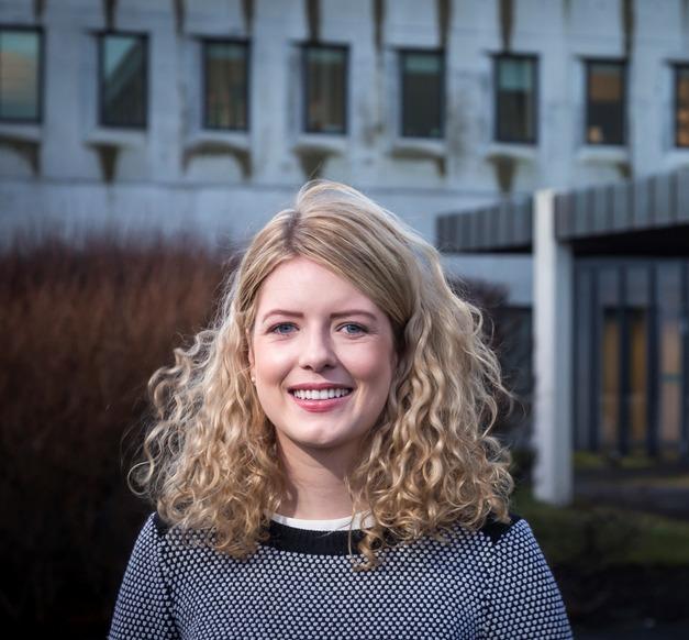 Áslaug Björk Ingólfsdóttir, Master's student at the Faculty of Law