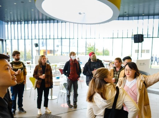 New International Students Welcomed