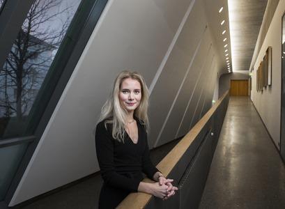 Dr Valgerður Sólnes, associate professor at the Faculty of Law, School of Social Sciences
