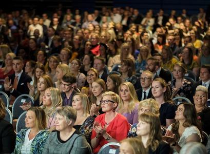 Graduation ceremony at the University of Iceland