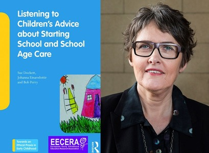 Jóhanna Einarsdóttir professor at the University's Scool of Education is one of three editors of the recently published book on Listening to Children's Advice about Starting School and School Age Care.