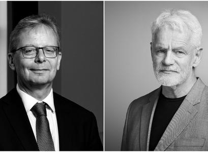 Jón Atli Benediktsson og Kári Stefánsson