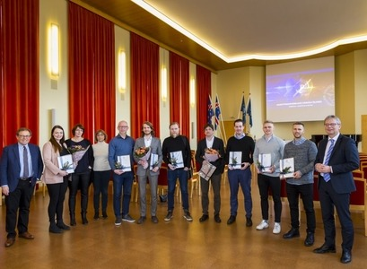 The innovators who received awards for their projects