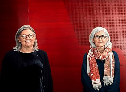 Birna Arnbjörsdóttir, director of the Vigdís Finnbogadóttir Institute of Foreign Languages and head of faculty of the University of Iceland's Faculty of Languages and Cultures and Ásdís Rósa Magnúsdóttir, chair of the centre's board of directors heads the work.