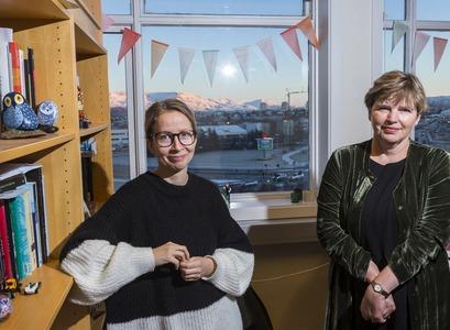 Ásta Jóhannsdóttir and Anndís G. Rúdólfsdóttir