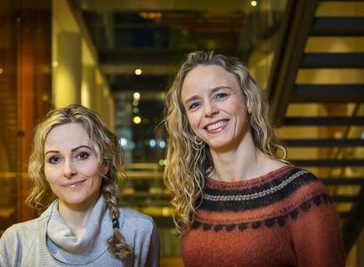 Sigrún Þorsteinsdóttir and Anna Sigríður Ólafsdóttir