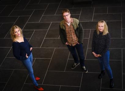 Berglind Rós Magnúsdóttir, Ólafur Páll Jónsson and Eva Harðardóttir