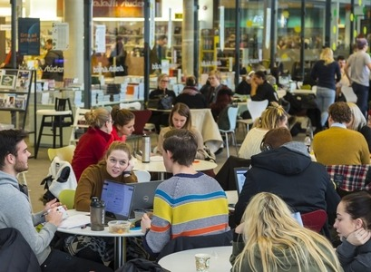 Students at the University of Iceland