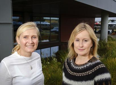 Hrönn Harðardóttir and Unnur Anna Valdimarsdóttir