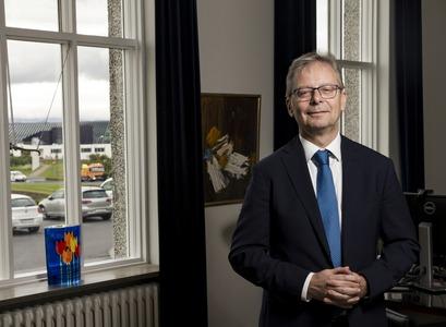 Jón Atli Benediktsson, rector of the University of Iceland
