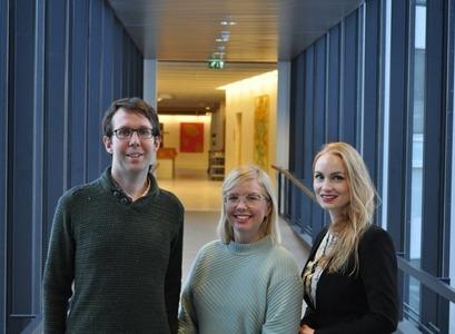 Dr. David Cook, Bjarnveig Birta Bjarnadóttir and Dr. Inga Minelgaite
