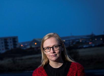 Agnes Gísladóttir, former doctoral student at the Faculty of Medicine
