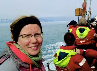 Marianne Rasmussen, director of the Húsavík Research Centre
