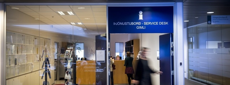 Office and Service Desk - Available at University of Iceland