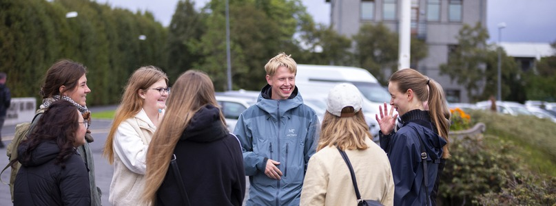 Orientation Days - Available at University of Iceland